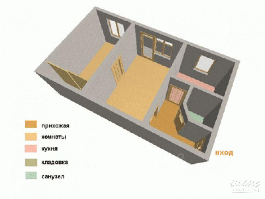 Продам квартиру в казани красной позиции площадью 46.00// - .